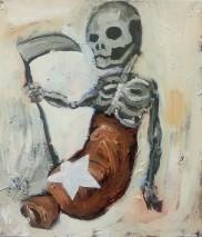 Aaron Rahe - Todeswurst, 40 x 30, 2015